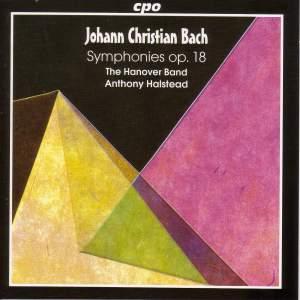 Bach, J C: Symphonies (6), Op. 18