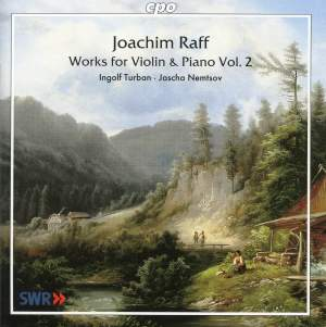 Raff - Works for Violin & Piano Volume 2