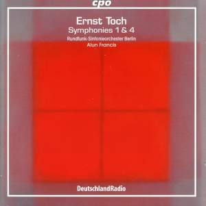 Toch: Symphonies Nos. 1 & 4
