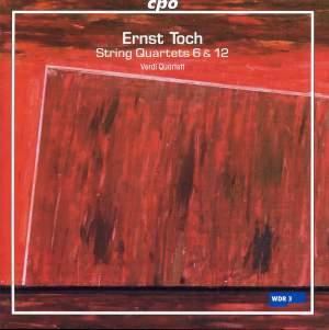 Toch - String Quartets Volume 3