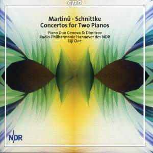 Martinu & Schnittke: Concertos for Two Pianos