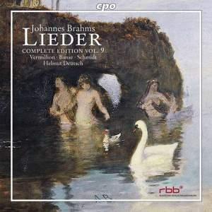 Brahms - Complete Lieder Edition Volume 9
