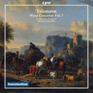Telemann: Wind Concertos Volume 7