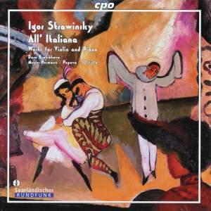 Stravinsky - All' Italiana