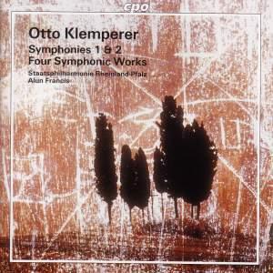 Klemperer: Symphonies Nos. 1 & 2 & Four Symphonic Works