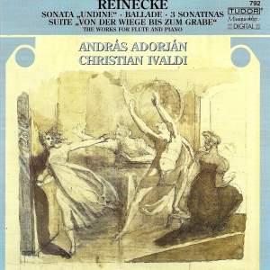 Reinecke: Sonata for flute & piano in E major 'Undine', Op. 167, etc.