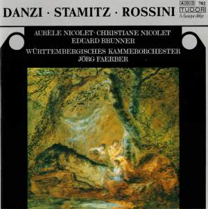 Danzi, Stamitz & Rossini: Music for Flute, Clarinet & Orchestra