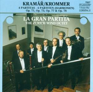 Krommer: Partita in E flat major, Op. 71, etc.