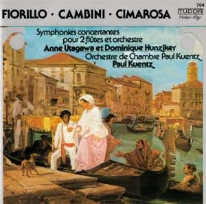 Fiorillo, Cambini & Cimarosa: Works for 2 Flutes & Orchestra