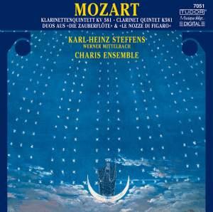 Mozart: Clarinet Quintet, Duos from Die Zauberflöte & Le nozze di Figaro
