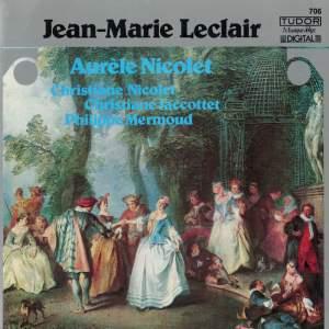 Leclair: 2ème Récréation de musique & Flute Sonatas