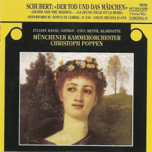 Schubert: String Quartet No. 14 in D minor, D810 'Death and the Maiden', etc.