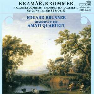 Krommer: Clarinet Quartet in Eb, Op. 21, No. 1, etc.