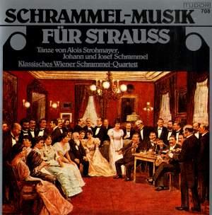 Schrammel-Musik für Strauss