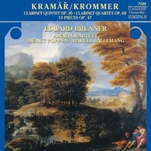 Krommer: Clarinet Quintet in B flat, Op. 95, etc.