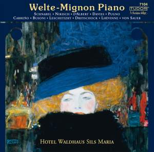 Welte-Mignon Piano Volume 1