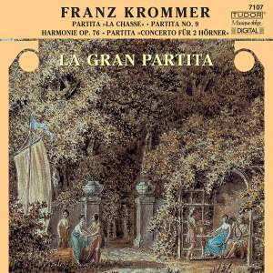 Krommer: Partitas for wind ensemble Product Image