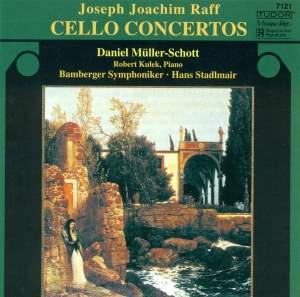 Joseph Joachim Raff - Cello Concertos Product Image
