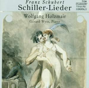 Schubert - Schiller Lieder
