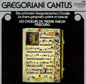 Gregoriani Cantus