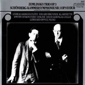 Zemlinsky: Clarinet Trio & Schoenberg: Chamber Symphony No. 1