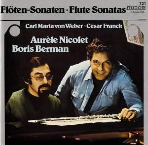 Weber & Franck: Flute Sonatas