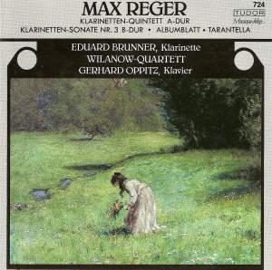 Reger: Clarinet Quintet in A major, Op. 146, etc.