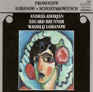 Lobanov, Prokofiev & Shostakovich: Chamber Works Product Image