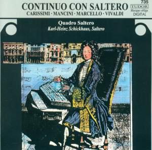 Vivaldi: Cantatas, Marcello, Mancini: Recorder Sonatas