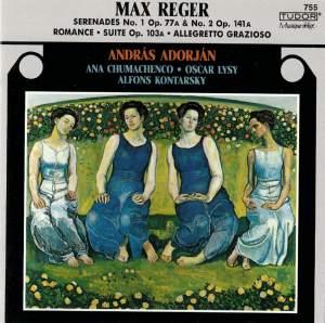 Reger: Serenade in D, Op. 77a, etc.