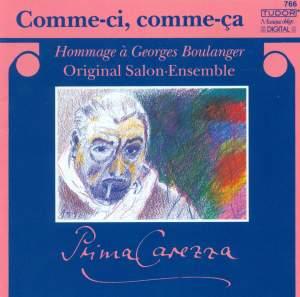 Comme-ci, Comme-ça - Hommage à Georges Boulanger