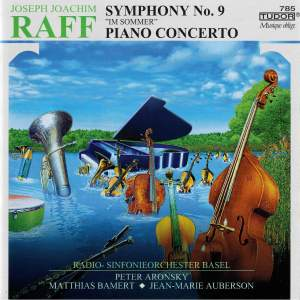 Raff: Symphony No. 9 in E Minor, Op. 208 'Im Sommer' & Piano Concerto in C Minor, Op. 185 Product Image