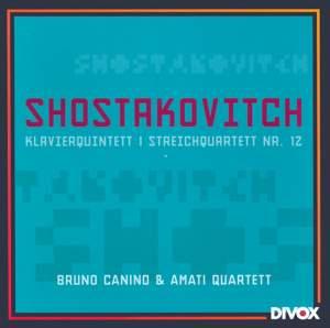 Shostakovitch: Piano Quintet & String Quartet No. 12 Product Image