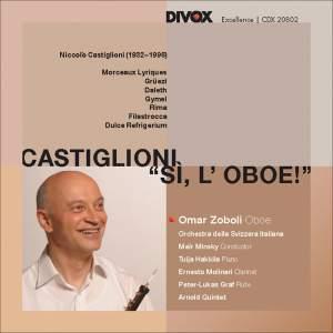 Castiglioni - Entire oeuvre for the oboe Product Image