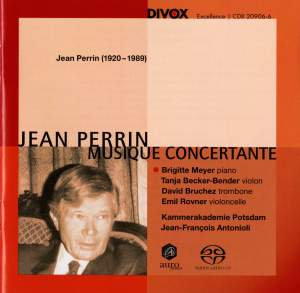 Jean Perrin: Musique Concertante Product Image
