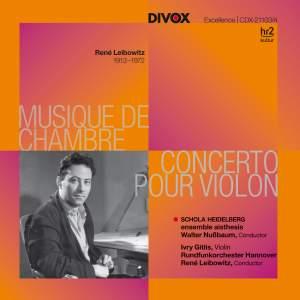 Leibowitz: Musique De Chambre