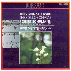 Mendelssohn & Schumann: Cello Works Product Image