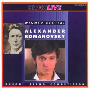 Busoni Piano Competition: Winner Recital