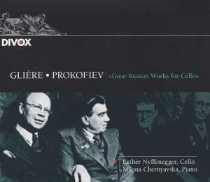 Glière & Prokofiev: Works for Cello & Piano