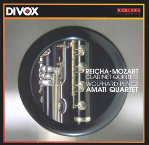 Clarinet Quintets Product Image