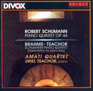Schumann & Brahms: Piano Quintets Product Image