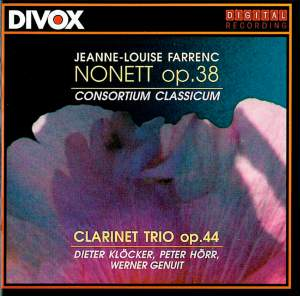 Jeanne-Louise Farrenc: Nonet & Clarinet Trio Product Image