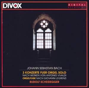 JS Bach: Organ Concertos Product Image