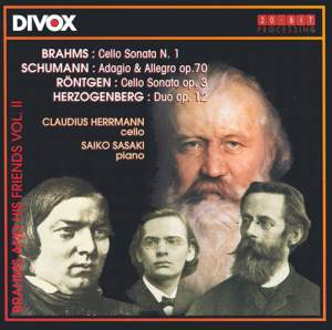 Brahms and his Friends, Volume 2 Product Image