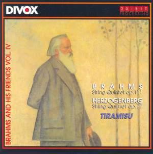 Brahms: String Quintet No. 2 & Herzogenberg: String Quintet