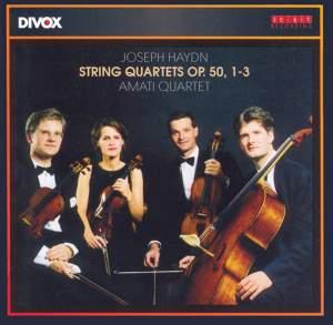 Haydn: String Quartet, Op. 50 No. 1 in B flat major, etc. Product Image