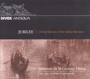 Jubilee - String Rarities of the Italian Baroque Product Image