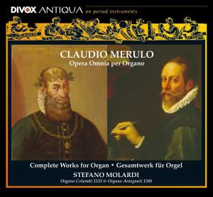 Merulo: Complete Works for Organ Product Image
