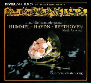 Hummel, Beethoven & Haydn: Music for Winds Product Image