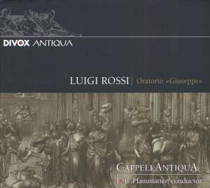 Luigi Rossi: Oratorio 'Giuseppe'
